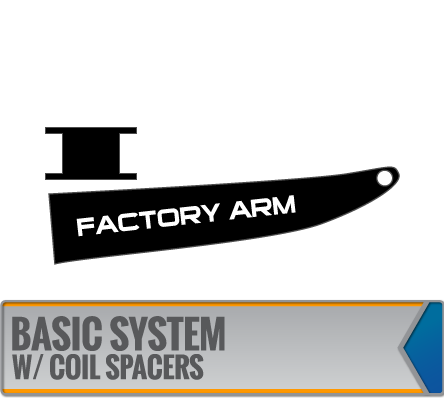 BASIC SYSTEMS W/ COIL SPACERS