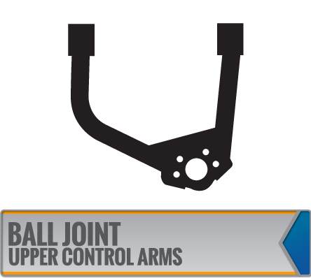 BALL JOINT UPPER CONTROL ARMS