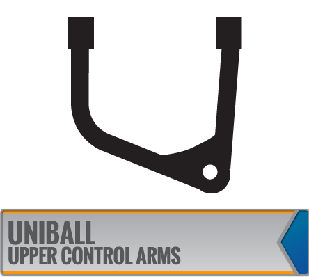 UNIBALL UPPER CONTROL ARMS