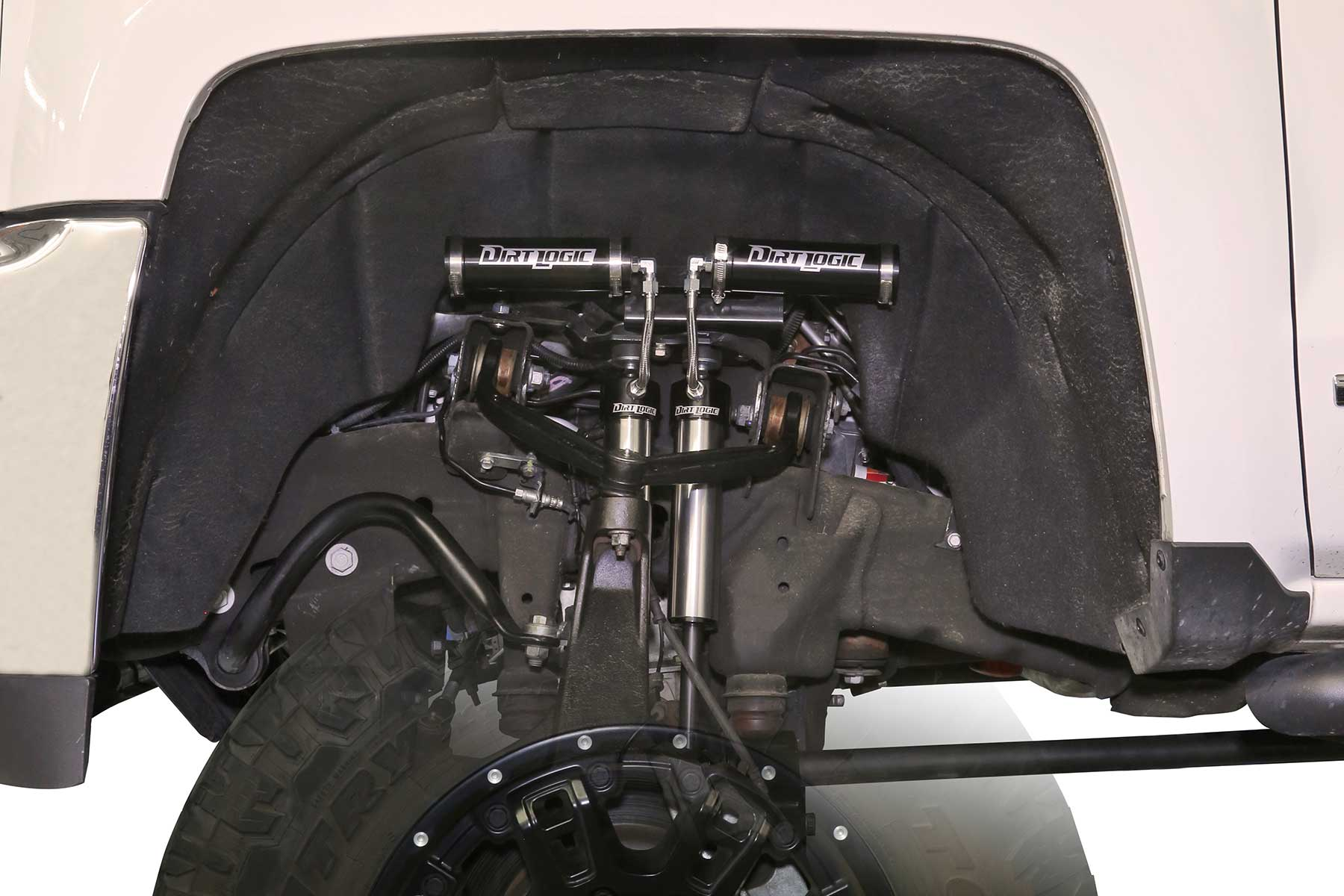 6 Front Dual Shock System W Dirt Logic 2 25 Resi Shocks Fts21244