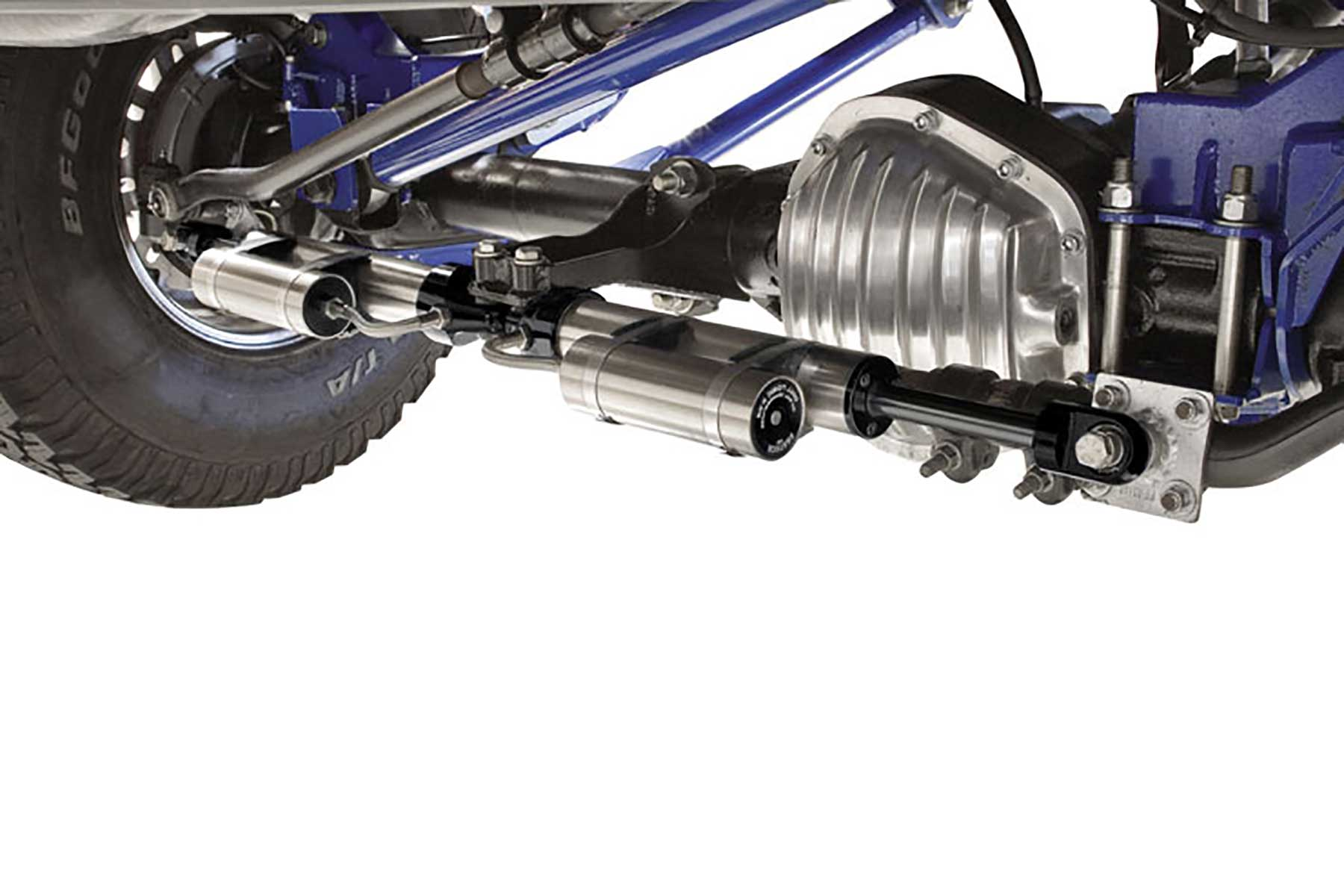 Ford Excursion 2015 >> Dual Steering Stabilizer System w/ Dirt Logic 2.25 Resi Shocks - FTS221152 | Fabtech Motorsports