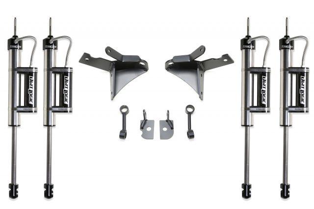 "7"" Dual Front Shock System w/ Dirt Logic 2.25 Resi Shocks - FTS23129"