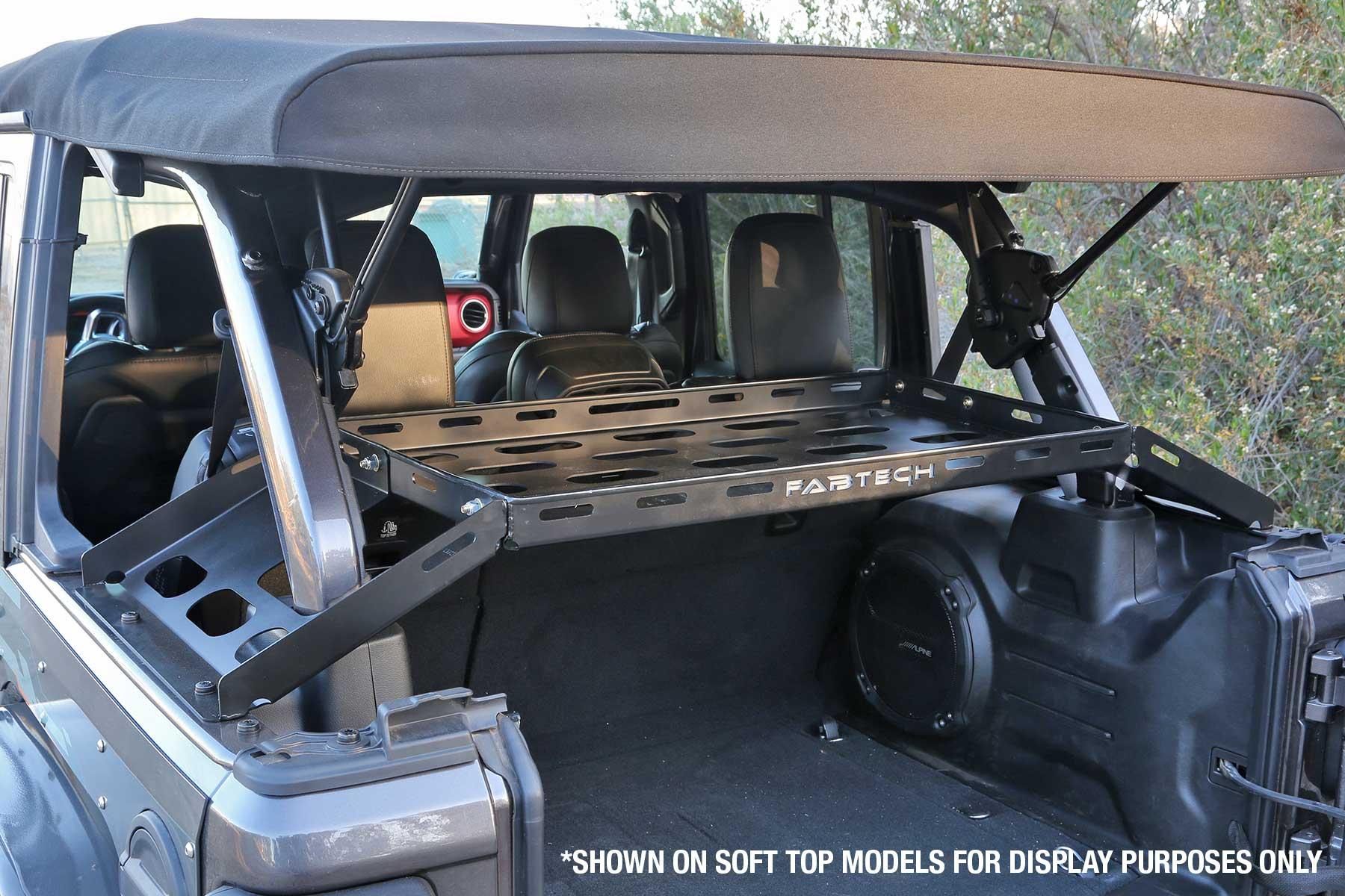 Interior Cargo Rack Fts24211 Fabtech Motorsports