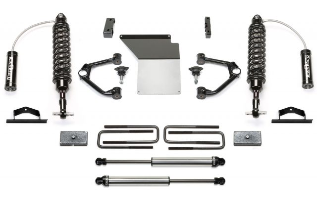 K Dl Kit X on Fabtech 2 Upper Control Arm System W Front Dirt