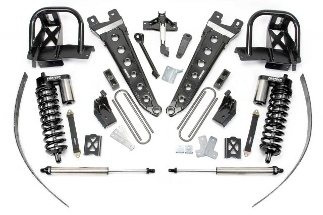 "8"" Radius Arm System w/ Dirt Logic 4.0 Coilovers & Rear Dirt Logic Shocks - K20341DB"