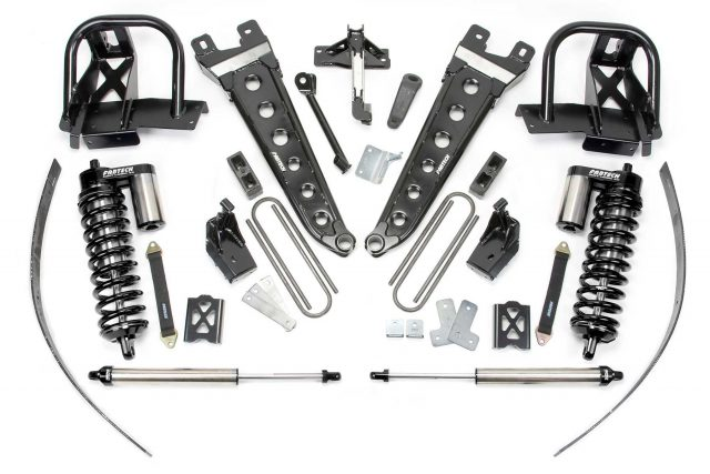"8"" Radius Arm System w/ Dirt Logic 4.0 Coilovers & Rear Dirt Logic Shocks - K2034DB"