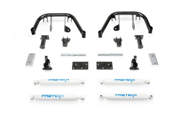 "6"" Dual Front Shock System w/ Performance Shocks - K2080"