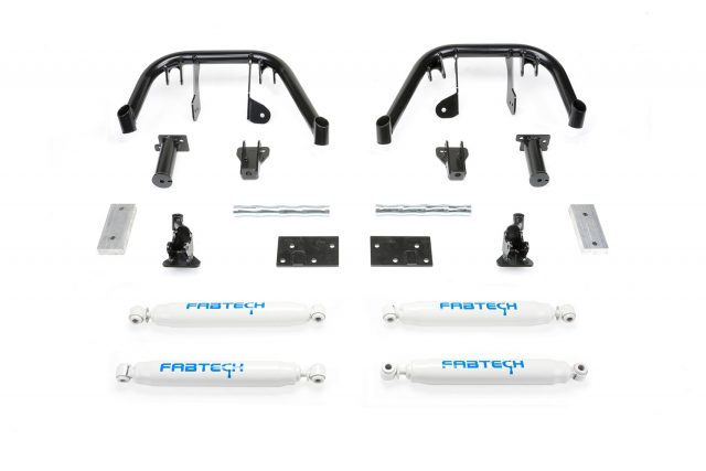 "8"" Dual Front Shock System w/ Performance Shocks - K2081"
