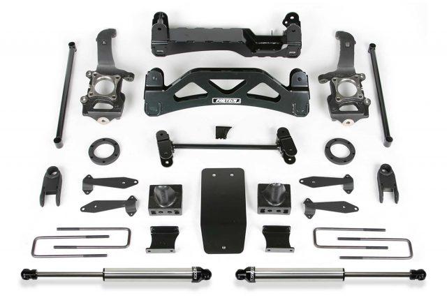 "6"" Basic System w/ Front Stock Coilover Spacers & Rear Dirt Logic Shocks - K2116DL"
