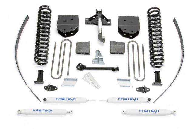 "8"" Basic System w/ Performance Shocks - K2122"