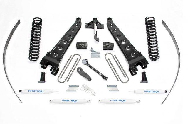 "8"" Radius Arm System w/ Performance Shocks - K2123"