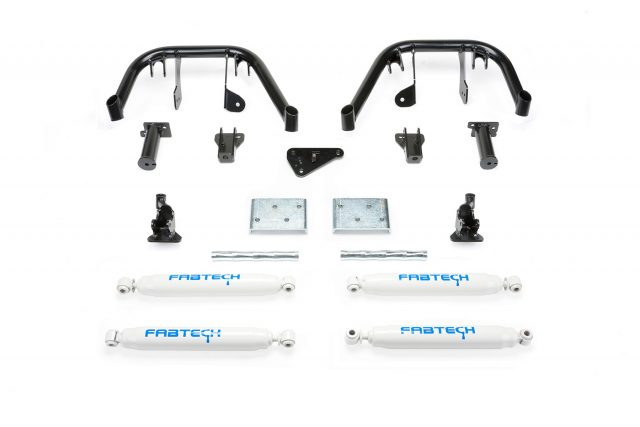 "6"" Dual Front Shock System w/Performance Shocks - K2133"