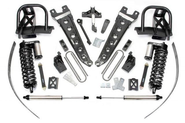 "8"" Radius Arm System w/ Dirt Logic 4.0 Coilovers & Rear Dirt Logic Shocks - K2140DB"