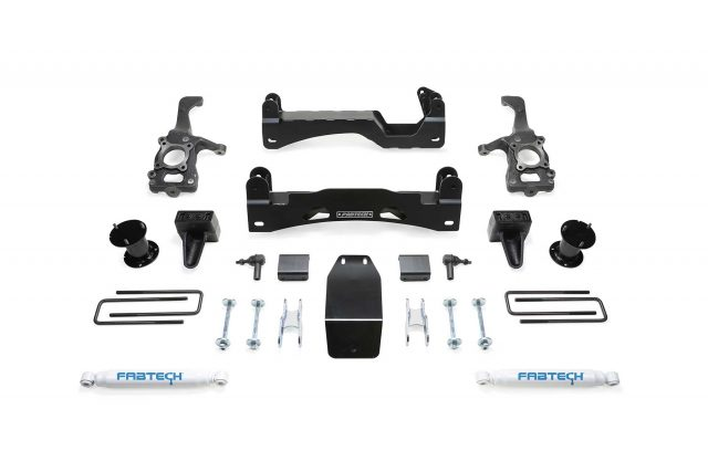 "6"" Basic System w/ Front Stock Coilover Spacers & Rear Performance Shocks - K2194"
