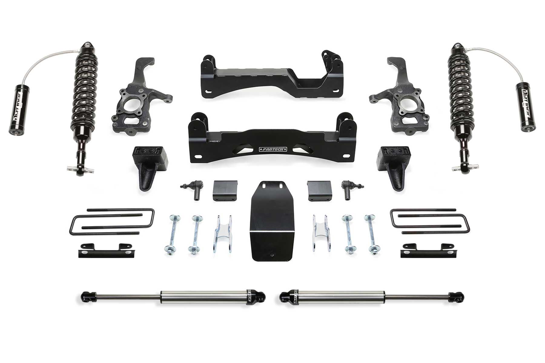 """6"""" Performance System w/ Front Dirt Logic 2.5 Resi Coilovers & Rear Dirt  Logic"""
