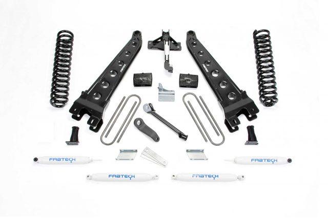 "4"" Radius Arm System w/ Performance Shocks - K2211"