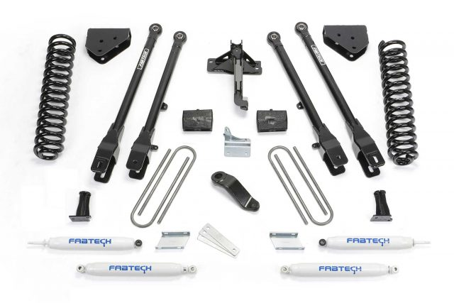 "4"" 4 Link System w/ Performance Shocks - K2212"