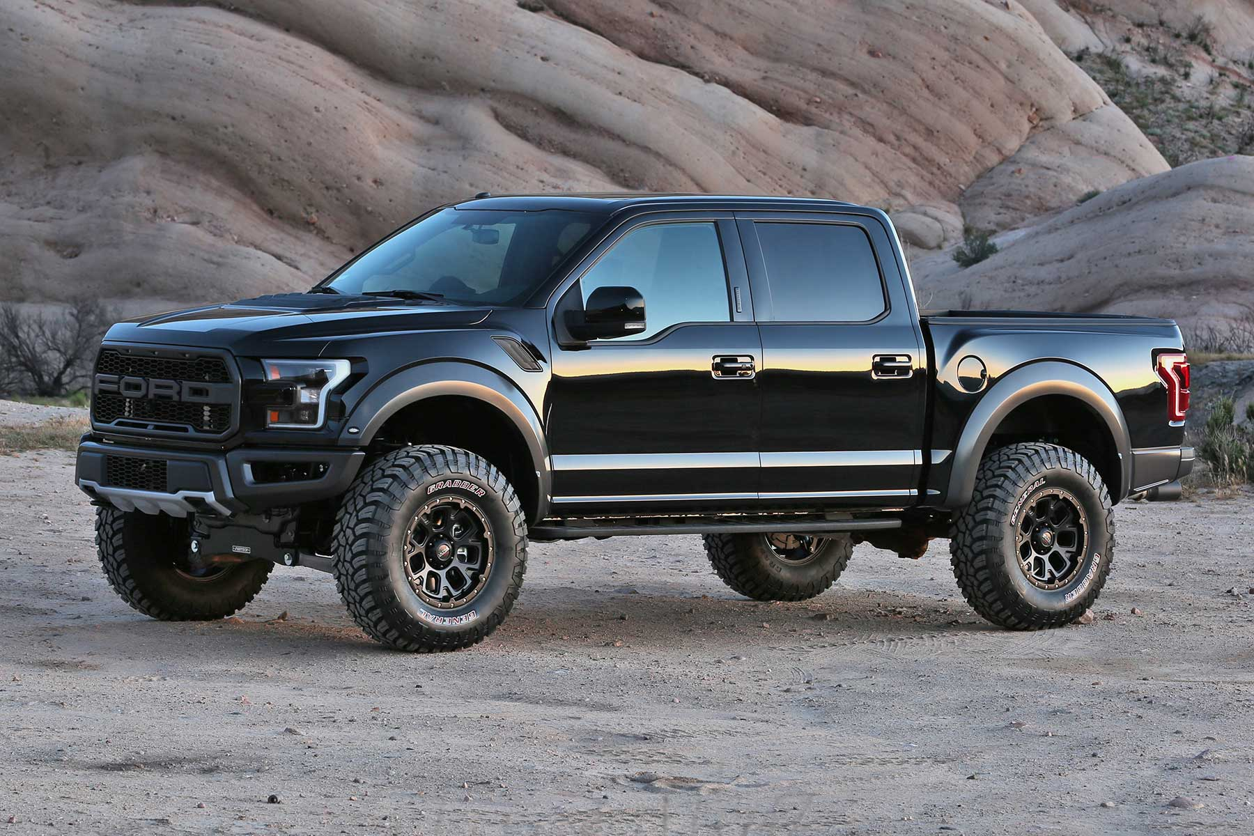 2017 Ford F150 Lifted >> 2017 19 Ford F150 Raptor 4 System Fabtech Motorsports