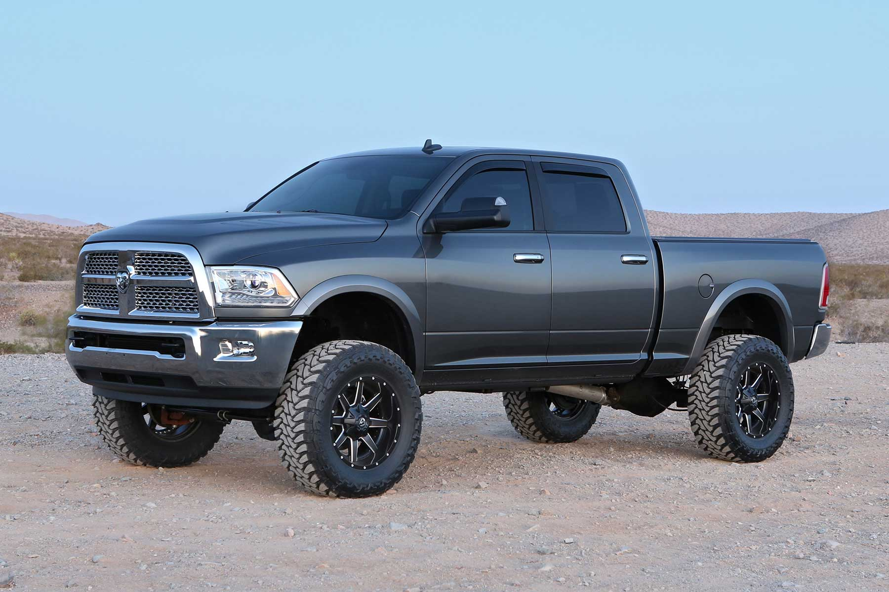 6 Inch Lift Kit For Dodge Ram 1500 4wd >> 6 Long Arm System W Performance Shocks K3035 Fabtech