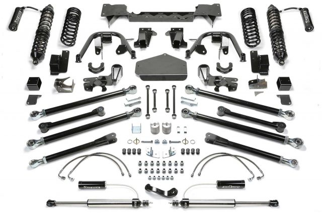 """3"""" Crawler Coilover System w/Front Dirt Logic 2.5 Resi Coilovers & Rear Dirt Logic 2.25 Resi Shocks - K4064DL"""