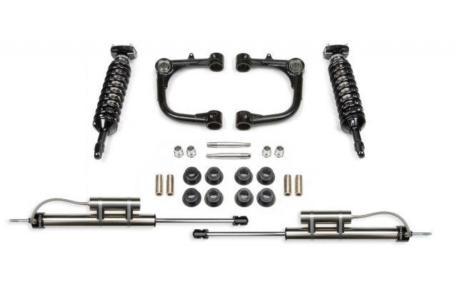 "3"" Upper Control Arm System w/ Front Dirt Logic 2.5 Coilovers & Rear Dirt Logic Resi Shocks - K7030DB"