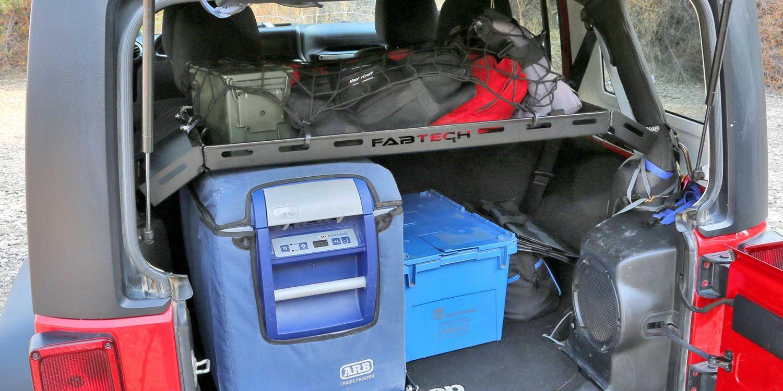 2005 Toyota 4Runner >> 2007-18 JEEP JK 4WD [4-DOOR] - INTERIOR CARGO RACK | Fabtech®