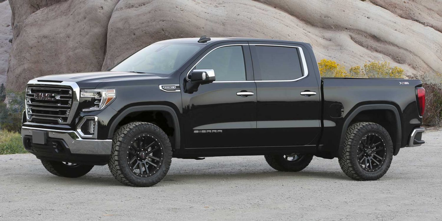 Tacoma Black Wheels >> 2019 GM 1500 2WD/4WD - LEVELING SYSTEM | Fabtech Motorsports