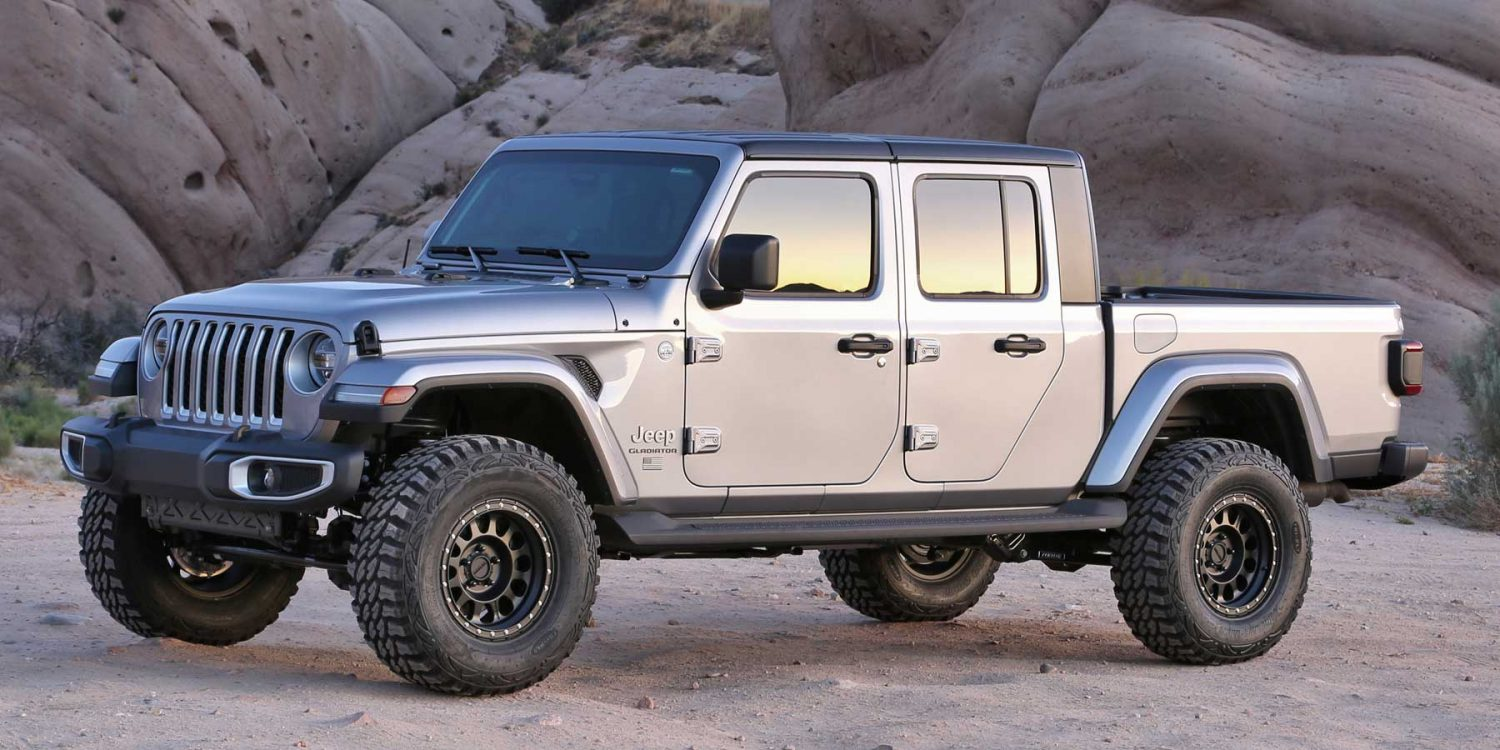 Jeep Lift Kits >> 2020 Jeep Gladiator 4wd 3 Lift Kits Fabtech
