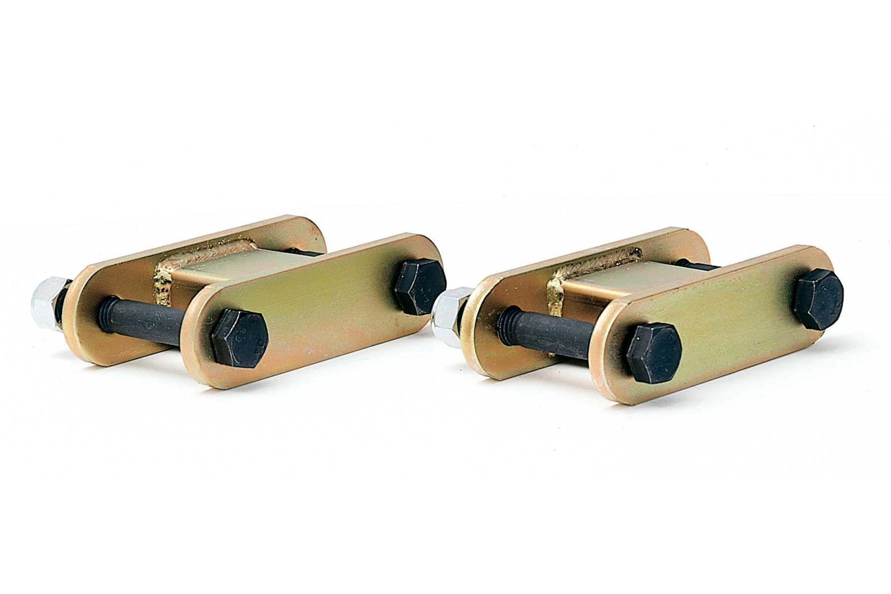 Lift Rear Add-A-Leaf Kit Fabtech FTS209 Add-A-Leaf Kit 1.5 in